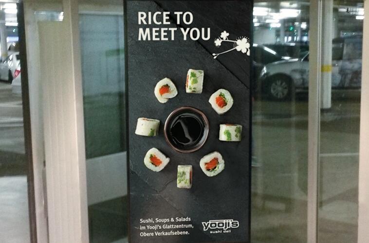 Rice to meet you, …