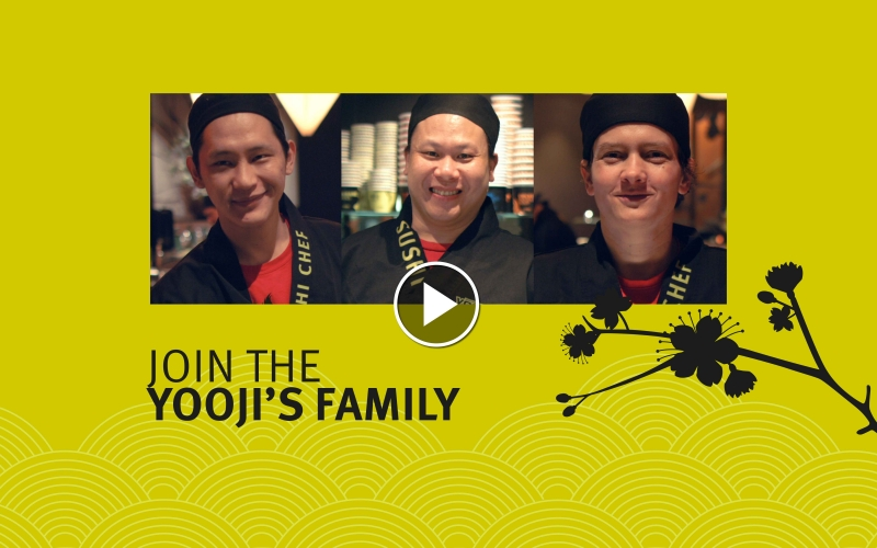 Join the Yooji's-Family!