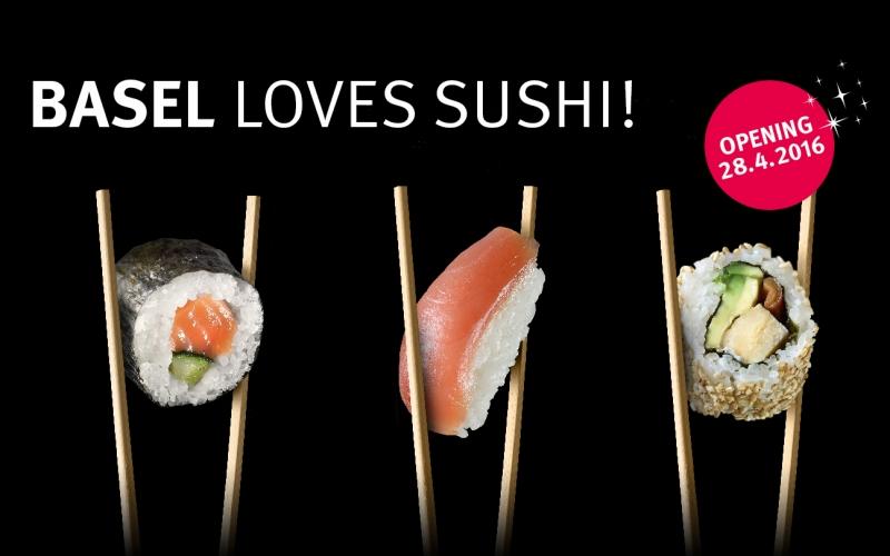 Mehr Sushi für Basel