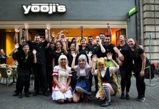 Impressionen von der Eröffnungsfeier vom Yooji's in Basel