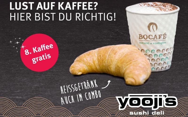 Lust auf Kaffee? Da bist du bei Yooji's richtig