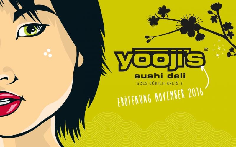 Eröffnung Yooji's in Zürich Enge