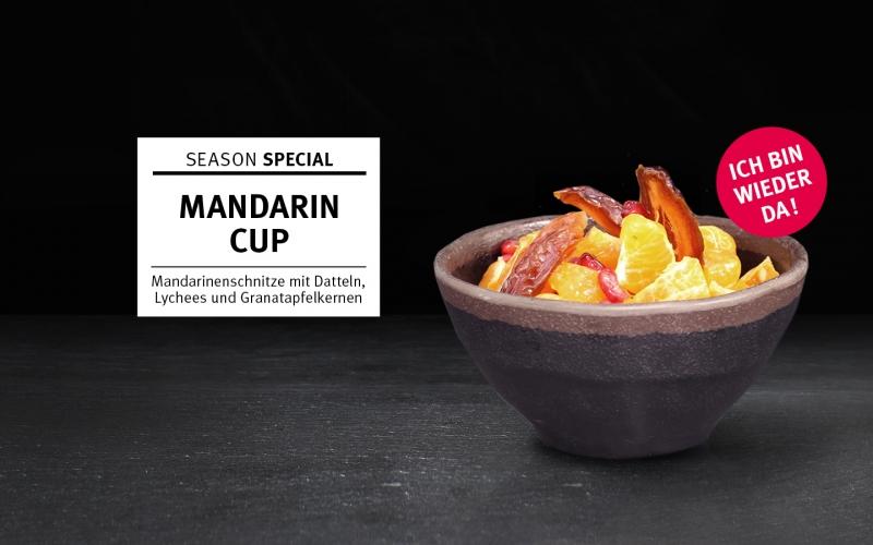 Mandarin Cup – gesund durch die kalte Jahreszeit