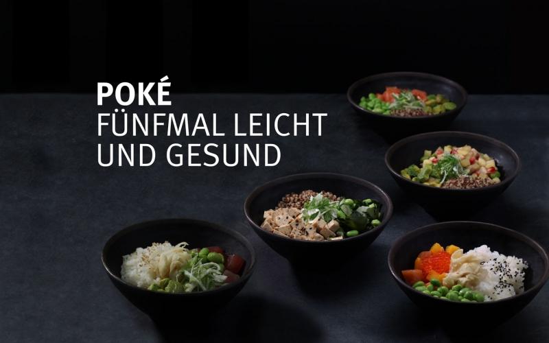 Poké – Fünfmal leicht und gesund