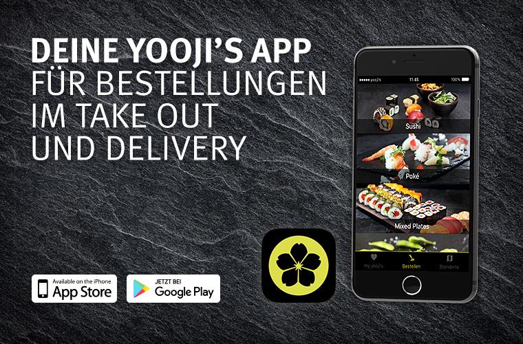 Yooji's App – Sushi bestellen ist jetzt noch einfacher!