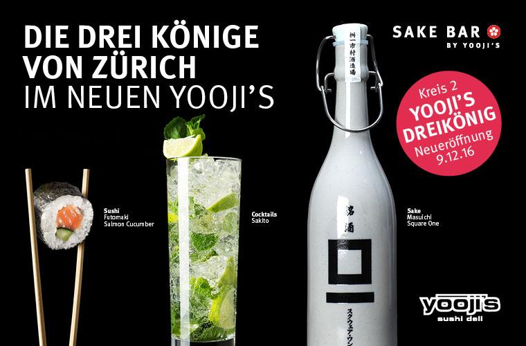 Eröffnung Yooji's Dreikönig in Zürich Enge