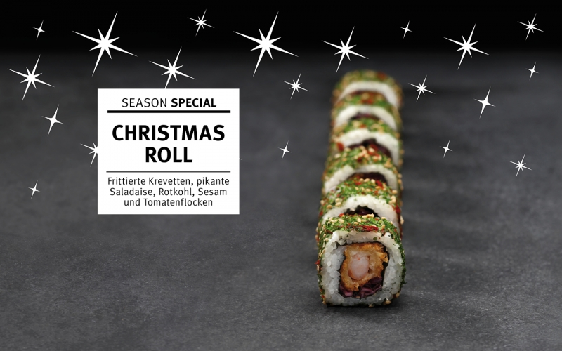 Christmas Roll is coming to town