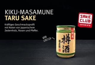 Sake No. 8: One Cup zum warm Geniessen