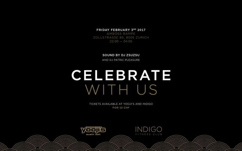 Celebrate with Yooji's and INDIGO