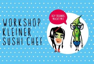 Kids Sushi Workshop: Unsere Kleinen ganz gross