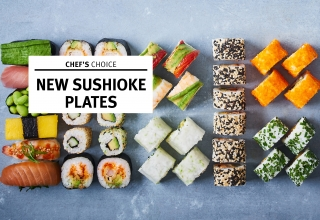 Chef's choice Sushioke Platten