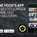 Deine Lieblings-Sushi bestellen von überall nach überall – bequem und einfach mit der Yooji's App!