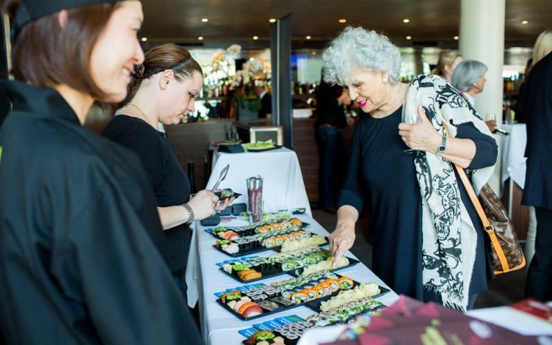 Unser Sushi an den Asia Days 2018