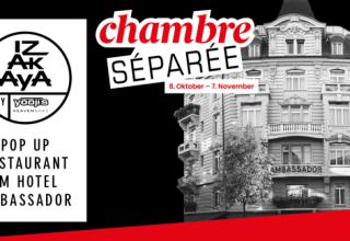 Chambre Séparée – Pop Up Restaurant im Hotel Ambassador Zürich